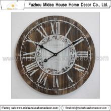 Customização Madeira Relógio Decoração para casa