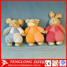 2014 best selling cute and stuffed plush animal toys for baby