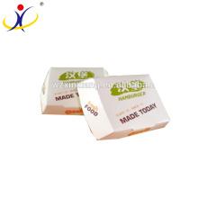 Customized color!Hot Sale Paper Food Box Hamburger Box,xinxiang