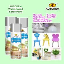 Eco-Friendly Spray Paint, Water Based Aerosol Paint, Water Based Spray Paint, Arylic Spray Paint, Low Odor