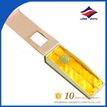 Gold color folk art style promotion 3D design bookmark