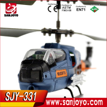 2016 high quality 3.5 ch outdoor helicopter with 2.4g remote controller rtf helicopter