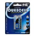 Alcalina 6lr61 Batería de pila seca 9V sin mercurio