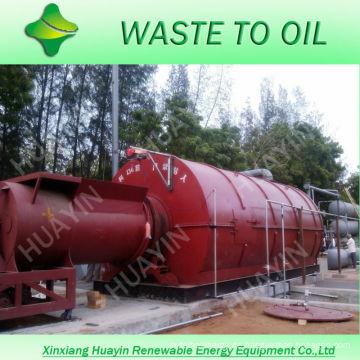 3 Arbeiter Kunststoffe / Reifen Recycling Maschinen Automatische Linie mit 6 Sets von Laufpflanzen