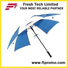 30 * 8k Ручной открытый прямой зонт для печати