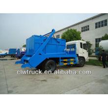 8 toneladas Dongfeng DFL saltar camión de basura