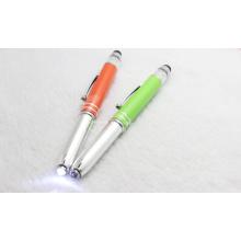 New Design LED Light Pen Touch Pen for Christmas Gift