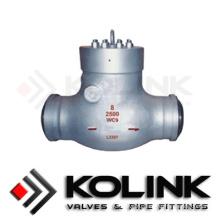 Тип запорного клапана с уплотнением давления