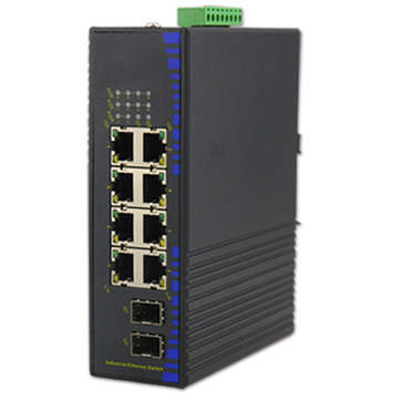 Industrial hybrid power over ethernet switch