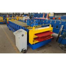 Double IBR dan Corrugated Roofing Roll Forming Machine