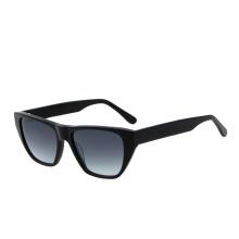 2021 Fashion Trend Women Big Black Vintage Square Sun Glasses River UV400