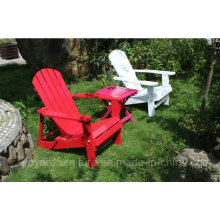 New Wood Leisure Chair Foldable Adirondack High Back Outdoor Garden Patio Lawn Furniture