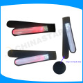 100% PVC LED LIGHT PIPE gradiente de brazalete de color con reflector