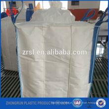 FIBC defletor saco 1500kg - saco enorme para sílica em pó com defletor e cinta dentro