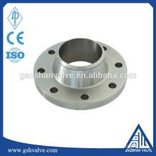 China flange manufacturer supply ANSI welding neck forged flange