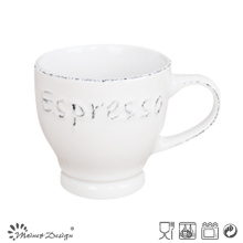3oz Espresso Coffee Cup with Brushed Rim Design