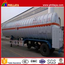 BPW 3 Eixos 55.6m3 Reboque Cisterna Líquido Criogênico GNL