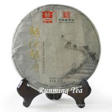 """2011 Dayi """"Yue Cheng Yue Xiang"""" Raw Pu Er té Puer de té de la materia prima pastel para el té de 357 g / pastel"""