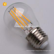 LED G45 Filament Bulb, Dimmable, Vintage Edison Lamp, 200 lumen, Warm White Glow, Omnidirectional, E27 Base