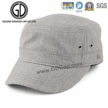 La mode fraîche de qualité supérieure 2016 a lavé le chapeau militaire d'armée avec le logo fait sur commande