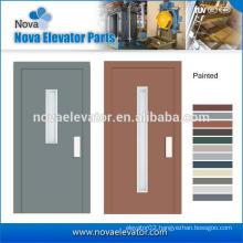 Semi-automatic Sliding Door, Manual Door for Passenger Elevator