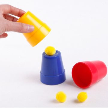 Classic Magic Trick Toy Copas y bolas