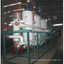 Nutritive and healthy rice bran oil refinery equipment