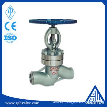 menual WCB welding globe valve