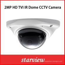 2MP HD Tvi IR mini cúpula CCTV de seguridad de la cámara digital