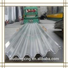 3004 H24 hoja de aluminio corrugado para el techo y muro cortina