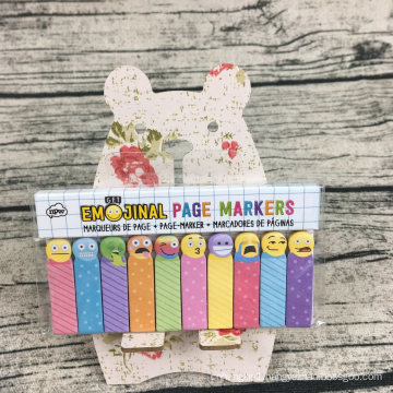 Factory Supply Chaep Memo Pad Colorfull Stick Notes Set