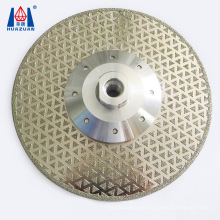 Hot selling diamond electroplated cutting disc for marble glass
