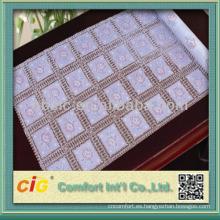 Fahsion PVC Long Lace Table Tela de tela