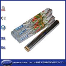 Домашнего Использования Толщиной Алюминиевой Фольги Рулонах