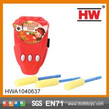 Brinquedos menores engraçados do arco Brinquedo do foguete da espuma / brinquedos do foguete