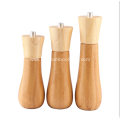All kinds of Bamboo Salt and Pepper Mill