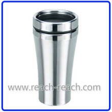 Coffee Mug, Travel Mug, Stainless Steel Mug (R-2014)