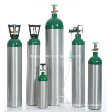 Cylindre de gaz médical en aluminium