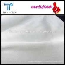 Branco tecidos sarja tecido lycra/branco africano tela tecida/elastano algodão sarja