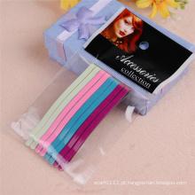 Lady Fashion Jewelry Accessories 6.5cm coloridos de metal gancho de cabelo (JE1023-2)