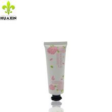 tubo blanco para envases de ungüentos crema cosméticos con tapa octogonal