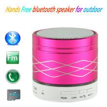A venda quente entrega o mini orador sem fio de Bluetooth livre para a amostra grátis