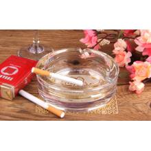 Haonai Round Clear Glass Cigarette Cigar Ashtray - Set of 4(Diameter 16/12.4/10.7/9cm)