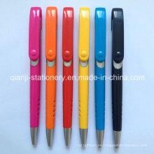 Bolígrafo de plástico multicolor (P1001B)
