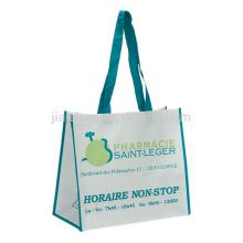 china factory beautiful flower design bag, sedex pp non woven wedding gift bag, handled zipper bag for wedding gift
