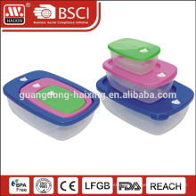 3 in 1 Plastic Food Container ,Lunch Box (3pcs)