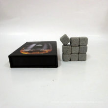 Wine Chiller Bar Accessories Type And Eco-friendly Feature Whisky Stone/Elegant Whiskey Stone Set In Pine Wood Gift Case