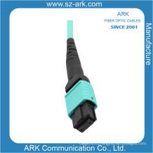 Разъем mpo/MTP для оптического волокна om3 кабель патчкорд с коннекторами