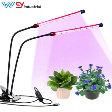 Abrazadera flexible 2 cabezales Grow Plant Growing LED