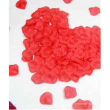 Pétalos de rosa pétalo de flores de seda para una boda